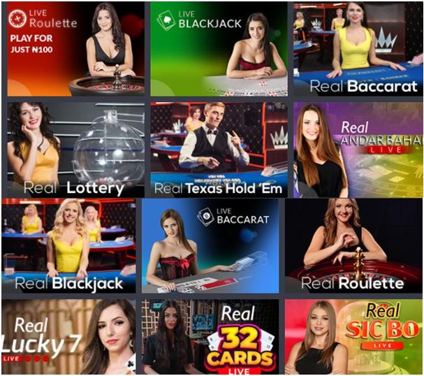 12 Fantastic Live Dealer Games to Play at Bet9ja
