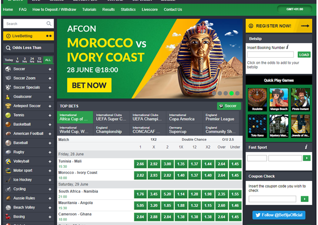 Bet9ja sports betting