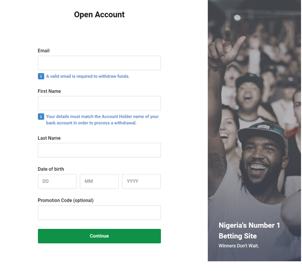 How to get started with Bet9ja to do sports betting