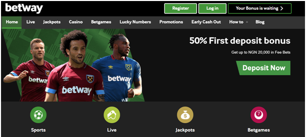 Betway Nigeria Football Bet