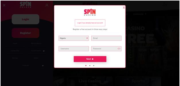 Spin Palace Casino welcome bonus