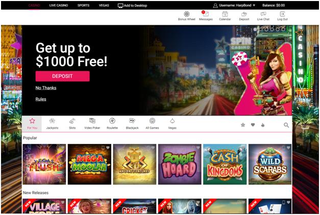 Spin Palace casino- Slots in Naira