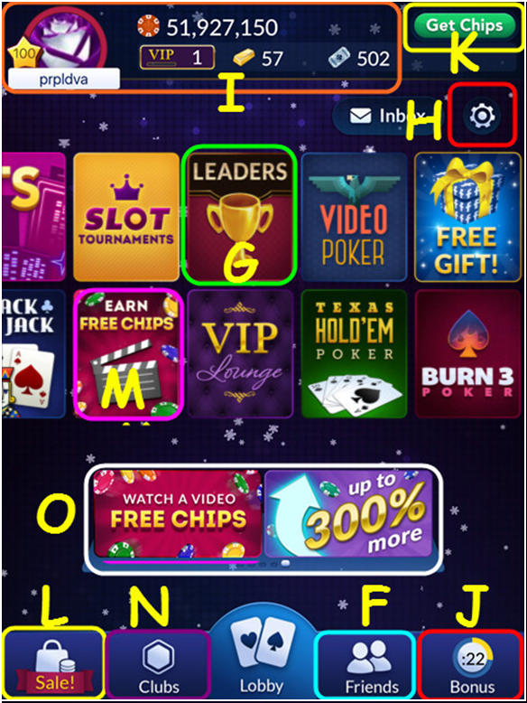 Big Fish Casino Instructions to games