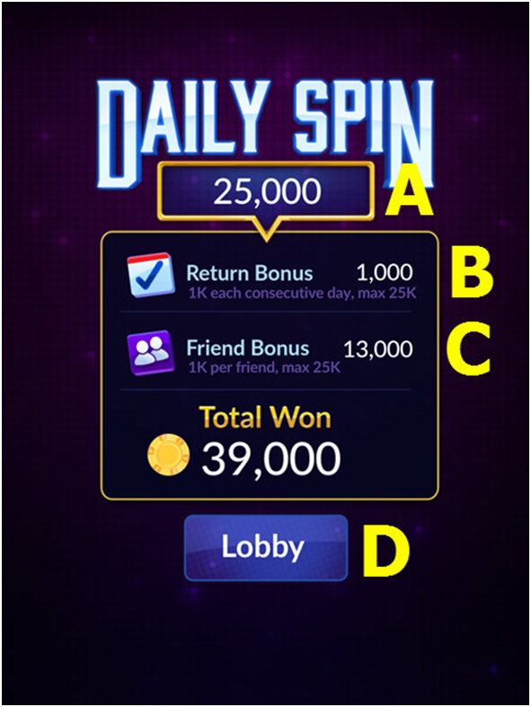 Big Fish Casino  Daily Spins