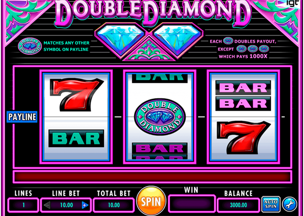Double-Diamond-slot