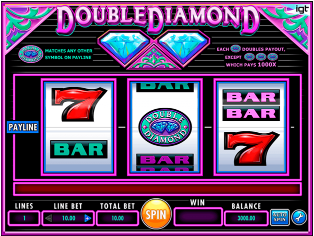 Double Diamond Slot Symbols