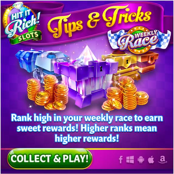 Hit it rich rewards