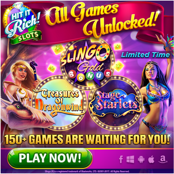 Hit it Rich slot games to play