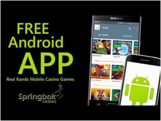 Springbok Casino Mobile App