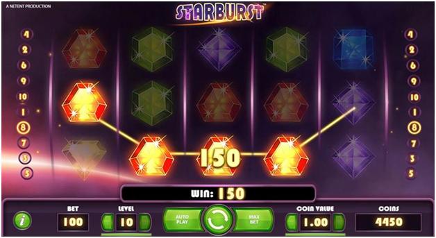 Starburst wins