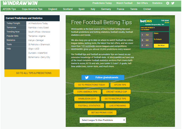 The Best Football Prediction Site in the World for Nigerian