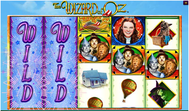 Wizard of Oz- game Features
