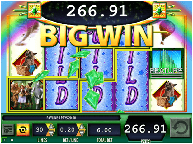 Wizard of Oz- Jackpot to win