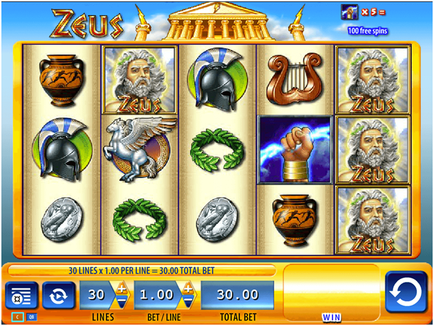 Image Result For Zeus Slot Machine Payouts