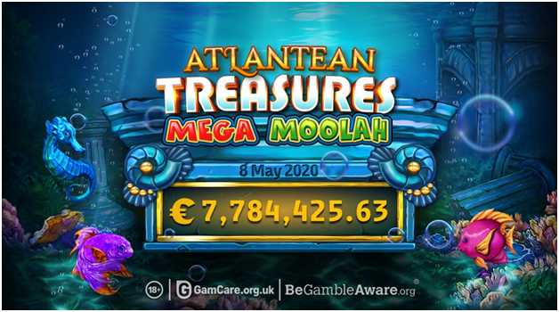 Mega Moolah- Atleantean Treasures