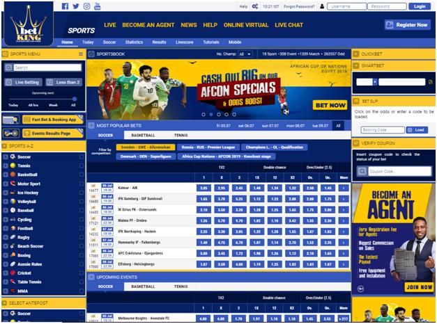 Betking Sports  betting in Naira