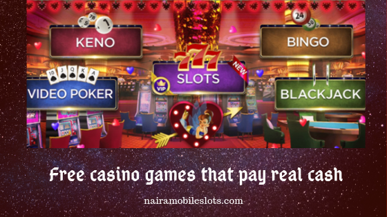 Online Casinos That Pay Real Money