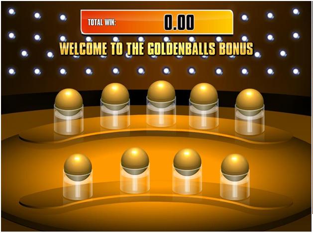 Golden Balls slot game features