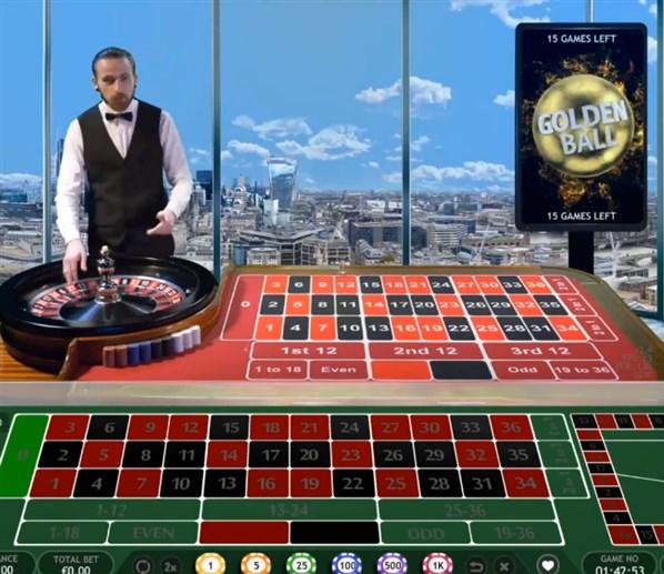Golden balls Roulette game