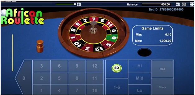 How to play African Roulette