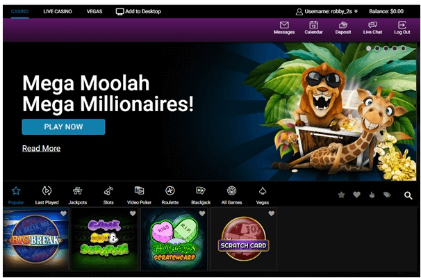 How to play Scratch cards at Jackpot City Casino with real money