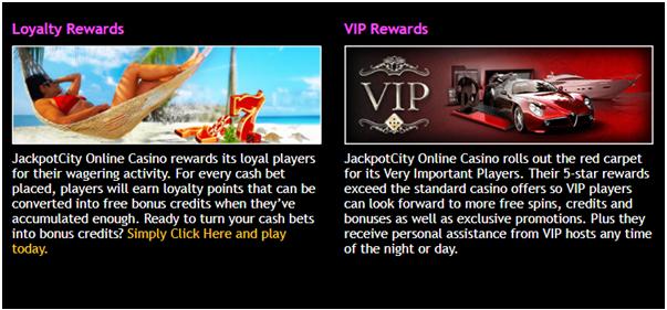 Jackpot city casino VIP