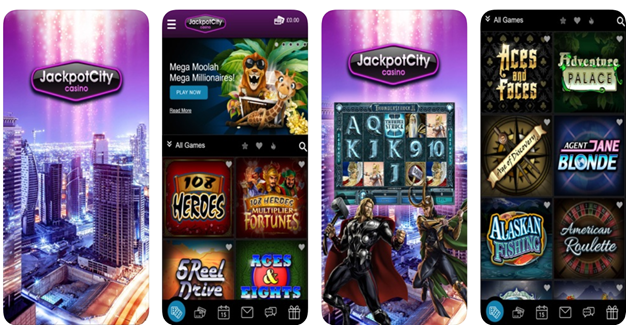 Jackpot city casino Nigerian mobile app