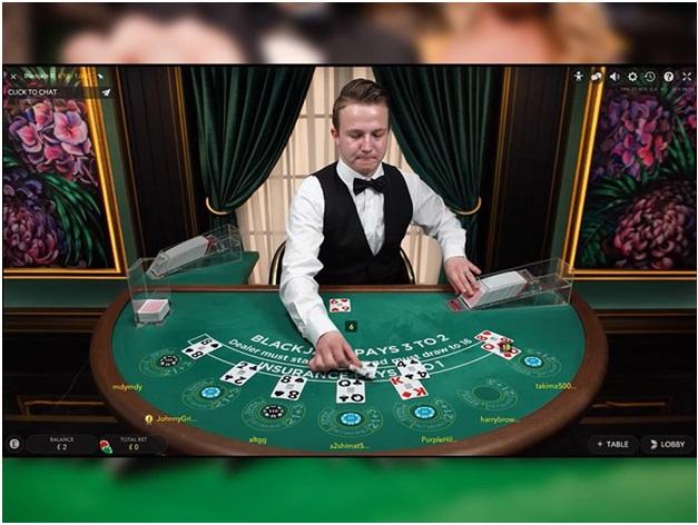 Live Blackjack game to play