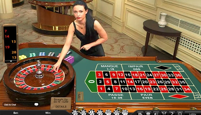 Live Roulette game to play