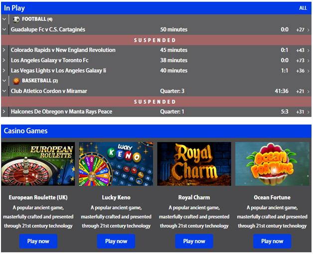 Nairabet mobile casino games