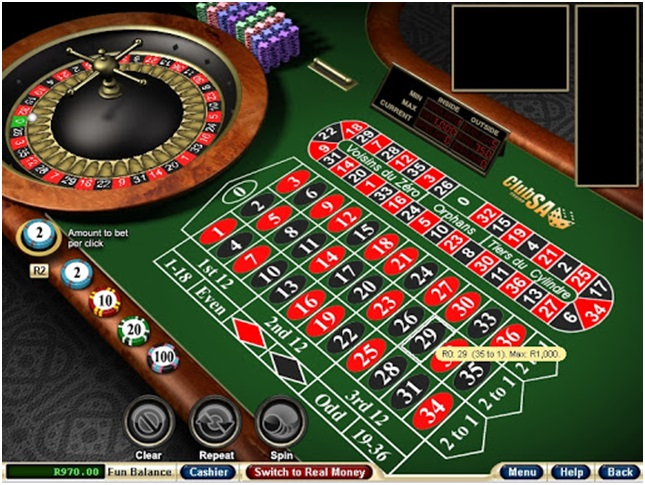 Play African Roulette