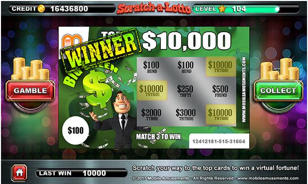 Scratch a lotto