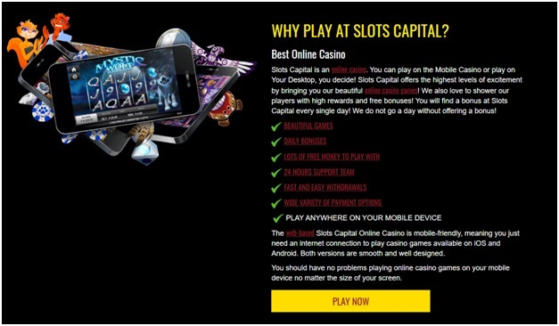 Slots capital games to play