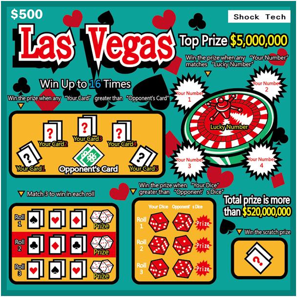 Las Vegas Scratch Tickets