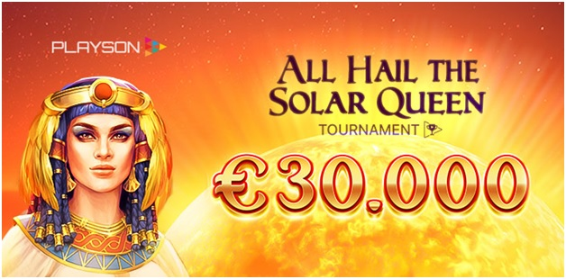 What is Solar Queen Slot Tournament?
