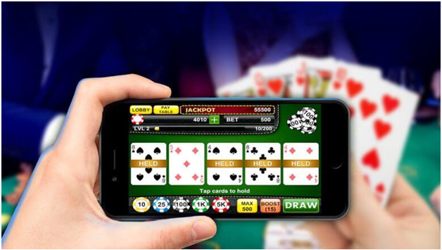 Video Poker Games to play online with your mobile in Rand